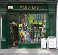 Websters: Chiltern Street (Curry15) Tags: london shop traditional w1 shopfront marylebone websters ironmonger hardwareshop pillasters 13eaststreet established1870 generalironmongers webstersonltd sgwebb 13chilternstreet