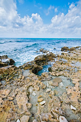 Blowholes on the south shore of Grand Cayman Island. (timsimmonsphoto) Tags: island blowhole grandcayman