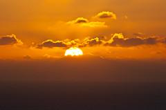 342/365 El sol se pone en el horizonte