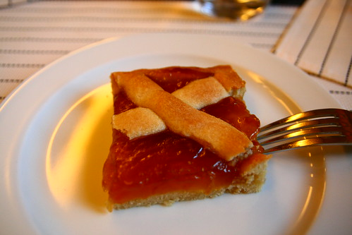 Apricot Tart at Nh Excelsior in Siena