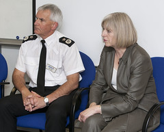 Home Secretary's Visit (Greater Manchester Police) Tags: police gmp policeofficer homesecretary chiefconstable theresamay greatermanchesterpolice peterfahy controlroomseniorofficer