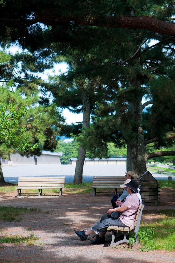 休日の午後|京都御所