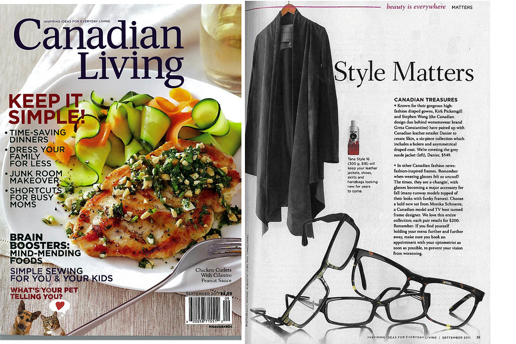 Canadian Living magazine, September 2011 issue