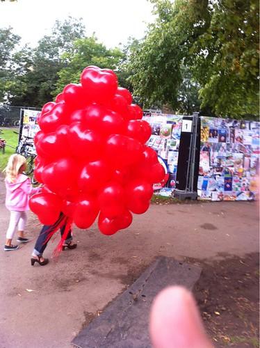 Heliumballonnen Rode Hartballonnen Paradie Overschie