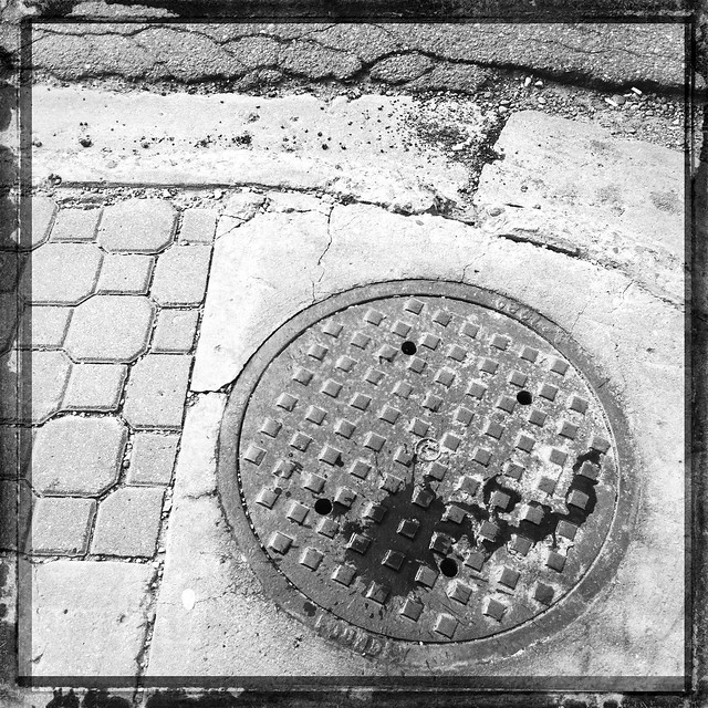 to the sewer