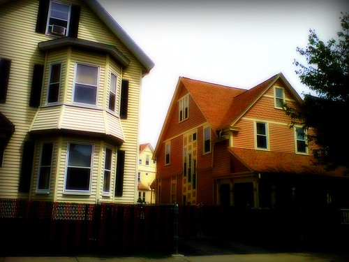 Citrusy Somerville Houses by arthennessey
