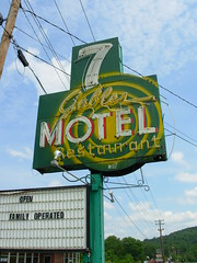 7 Gables Motel Restaurant - Burnside, Kentucky