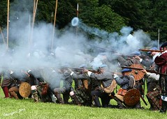 Ring of Fire (day_sargent) Tags: history scotland battle battlefield reenactment selkirk livinghistory warfare scottishborders sealedknot philiphaugh