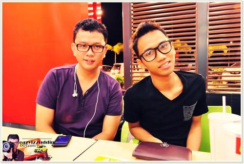 Me & Amir Aidid