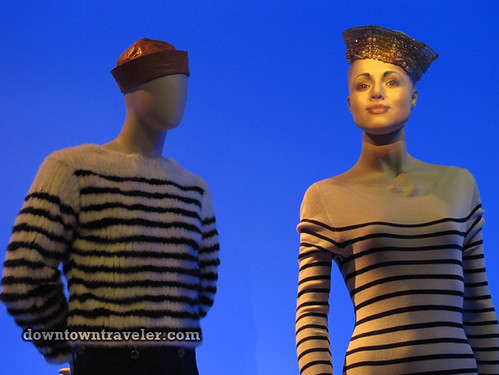 Jean Paul Gaultier sailors at Montreal Musee des Beaux Arts