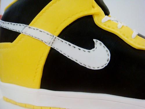 Nike Kicks Shoe Cake