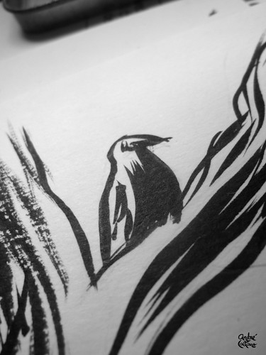 Wolverine Fanart - Close up Inks