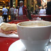 Coffee and panini