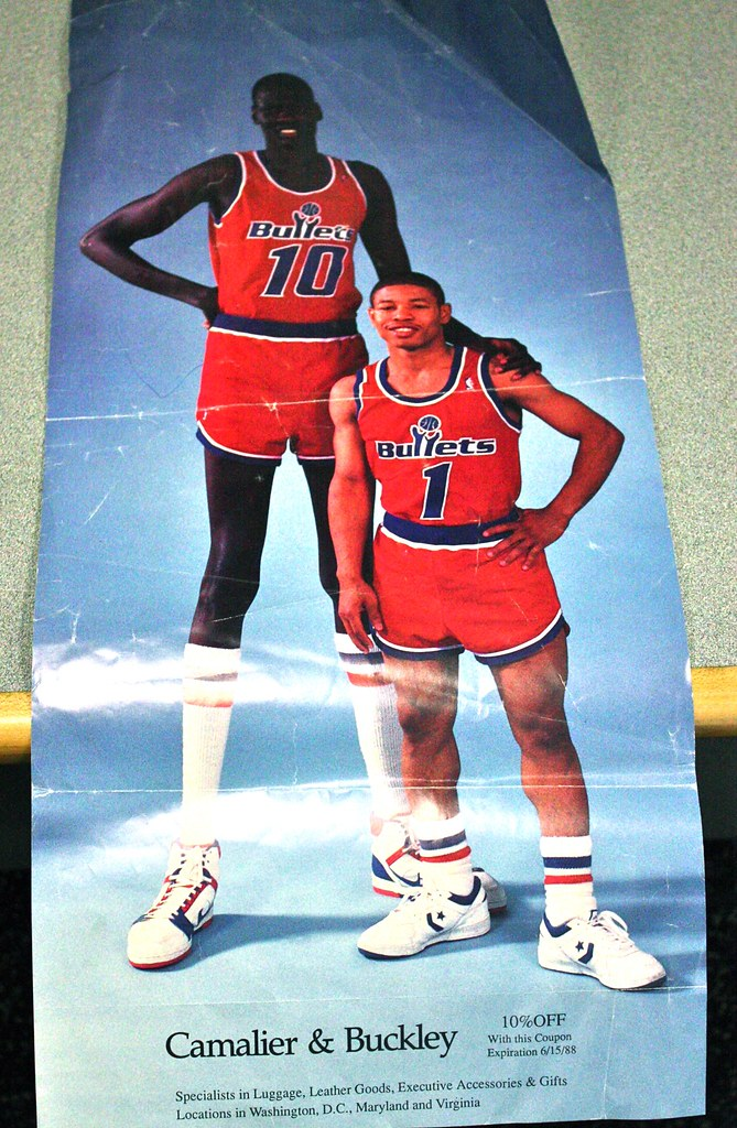 Old Washington Bullets In Poster Form Wizards Blog
