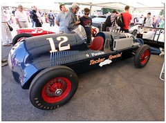 "Al Miller 1941 Miller ""Preston Tucker Special"" Indy Car. ""100 Years Indianapolis 500"" Goodwood Festival of Speed 2011 (Antsphoto) Tags: auto uk classic car sussex britain indianapolis historic cart fos motorracing goodwood carshow motorsport speedway irl racingcar chichester autosport champcar indy500 indycar brickyard usac motorcar sigma1020mm indianapolis500 2011 hstoric goodwoodfestivalofspeed goodwoodhouse canoneos40d almiller antsphoto anthonyfosh goodwoodfestivalofspeed2011 prestontuckerspecial gooodwoodhouse 100yearsindianapolis500 100yearsindy500 1941miller"