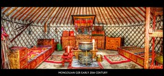 MONGOLIAN GER | YURT (ARIUKAMO) Tags: home century early interior traditional mongolia yurt 20th furnitures ger mongol mongolian mygearandme