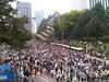5000-strong crowd at Maybank towers, Jalan Tun Perak by freemalaysiatoday