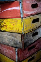 Coke Bottle Crates (photographyguy) Tags: texasjefferson tx crate coke drpepper texas wood