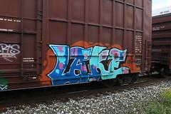 LAKE (euphonic.) Tags: canada car cn train bench graffiti fan spring stock rail sunny canadian national alberta graff railfan freight rolling sluts rollingstock yellowhead benching