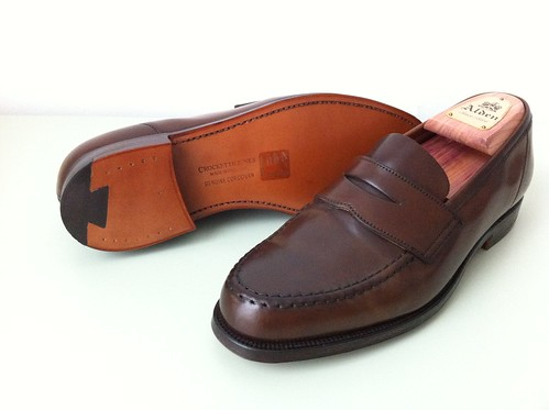 Crockett & Jones Harvard loafer