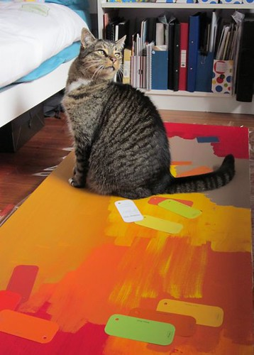 BigCat loves to paint
