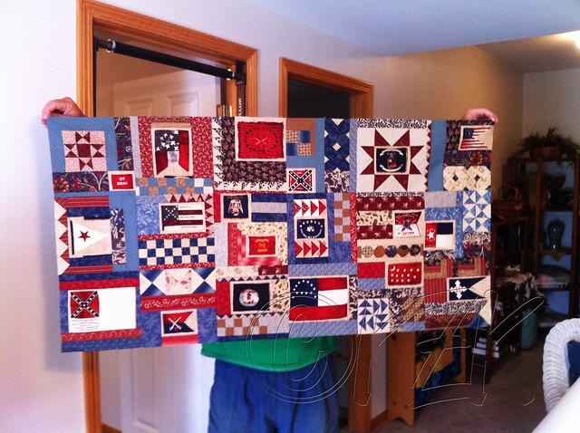 IMG_3026 Gettysburg Battle Flag quilt