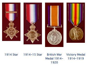 British Service Medals