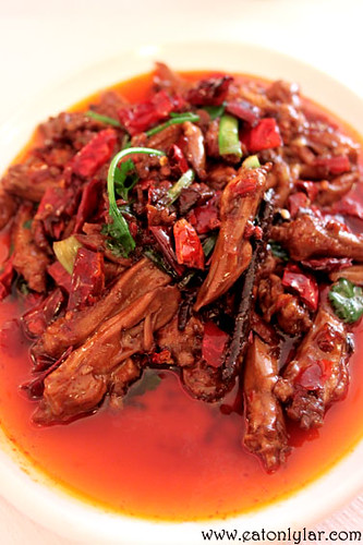 Hot and spicy duck tongue (香辣鸭舌), .cn