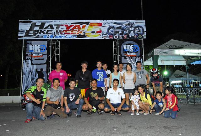 Hat Yai Bike Week 5 group Photo