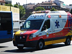 SAMUR - Proteccin Civil (Madrid Emergency Vehicles) Tags: madrid ambulance spanish civil 112 ems soporte vital bsico samur ambulancia proteccin emergencias