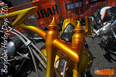 Barcelona Harley Days 2011: Manillar Harley-Davidson