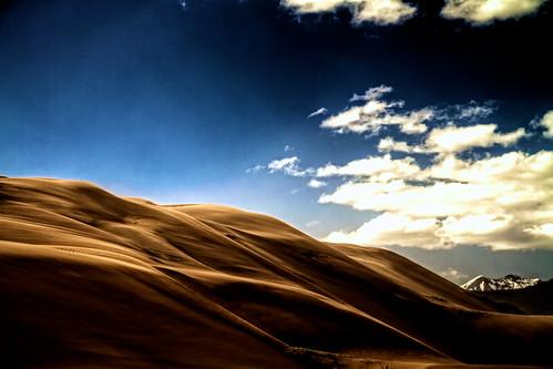 [フリー画像] 自然・風景, 砂漠, アメリカ合衆国, コロラド州, 201107131900