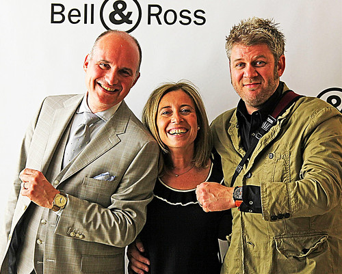 Bell&Ross Community Ambassador Simon Cudd