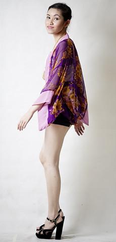 Kimono in Purple3