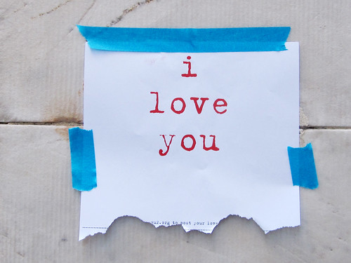 I Love You: Found Street Art Posting