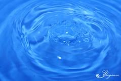 Entry (Yaqsan) Tags: blue water ripple sony drop off take splash entry dropping a55 yaqsan
