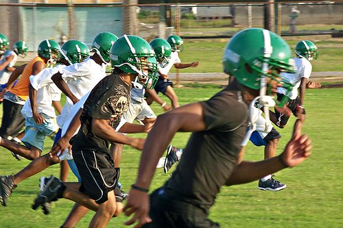 youth football in New Orleans (by: Louisiana Dept of Education)