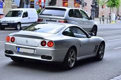 Ferrari 575M (Bazsi3) Tags: cars nikon hungary budapest ferrari 575m d7000