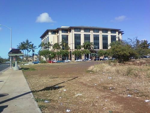 Kapolei transit center stop area