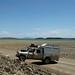 As aguas verdes do Lago Turkana