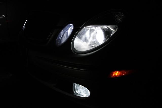 55w XENON HEADLIGHT BULBS To Fit Mercedes CLK 02-on H7H7H1