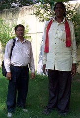 Ram Gopal Sahu With Famous Indian author Pawan Bakhshi (Pawan Bakhshi Blp) Tags: from great like ram gopal balia khali sahu