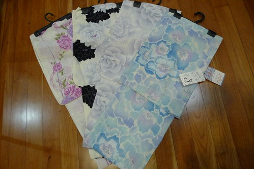 Jusco Yukata Fair 2011 - My Loot!