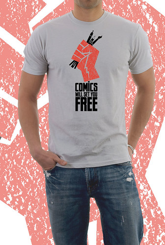 Caption t-shirt