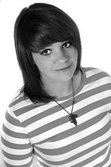 Emma Freeman (JonCoupland) Tags: boston pose studio jon pretty emma stripe young down lincolnshire stripey freeman coupland laid straddle