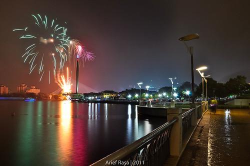 Putrajaya Fireworks by Arief Rasa