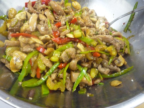 Ginger Chicken StirFry