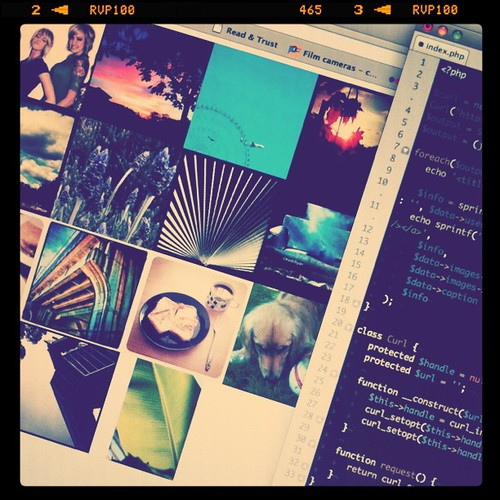 5 minute experiment with Instagram API