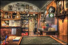 Dove il tempo non si ferma mai..... (celestino2011) Tags: tempo hdr orologi laboratorio artigiano stunningphotogpin