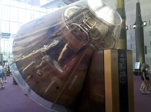 Apollo at NASM: Apollo 11 Command module